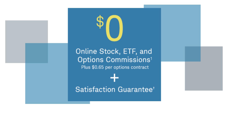 チャールズ・シュワブは2019年10月7日をもって、オンライン取引における株・ETFの取引を無料化している